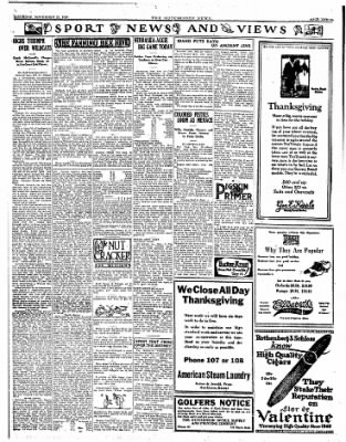 The Hutchinson News from Hutchinson, Kansas on November 22, 1924 · Page 3