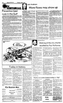 The Baytown Sun from Baytown, Texas on August 27, 1987 · Page 4