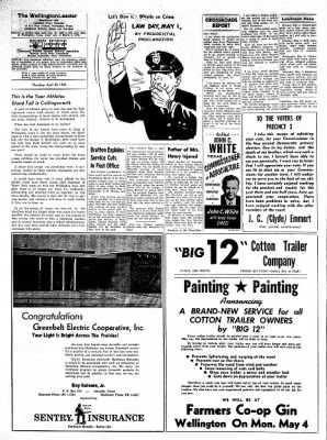 The Wellington Leader from Wellington, Texas on April 30, 1964 · Page 14