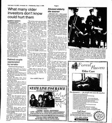 Ironwood Daily Globe from Ironwood, Michigan on September 2, 1998 · Page 12
