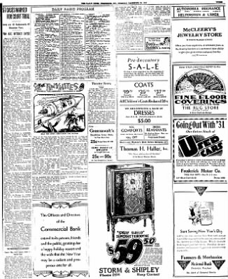 The News from Frederick, Maryland on December 29, 1931 · Page 3