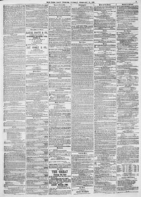 New York Tribune From New York New York On February 23 1869 Page 3