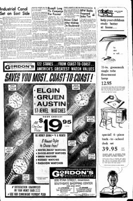 Lake Charles American-Press from Lake Charles, Louisiana on August 22, 1962 · Page 69
