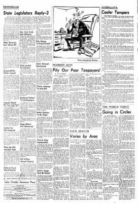 Lake Charles American-Press from Lake Charles, Louisiana on August 22, 1962 · Page 70