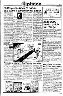 Ironwood Daily Globe from Ironwood, Michigan on September 3, 1998 · Page 7