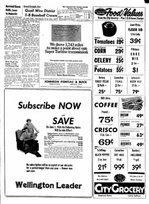 The Wellington Leader from Wellington, Texas on May 14, 1964 · Page 3