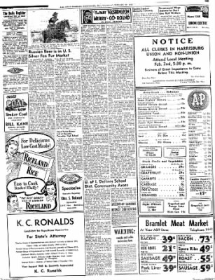 The Daily Register from Harrisburg, Illinois on January 29, 1948 · Page 2
