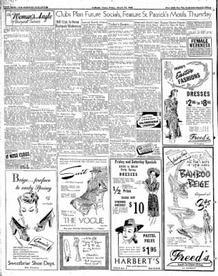 Lubbock Morning Avalanche from Lubbock, Texas on March 13, 1942 · Page 2
