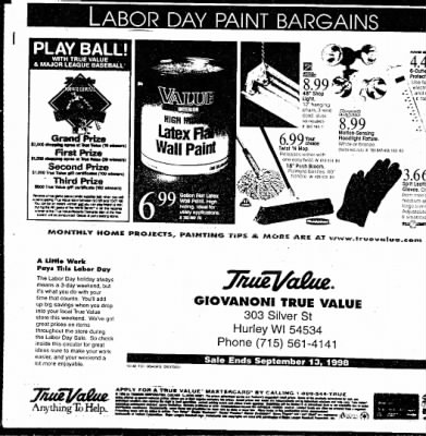 Ironwood Daily Globe from Ironwood, Michigan on September 3, 1998 · Page 21