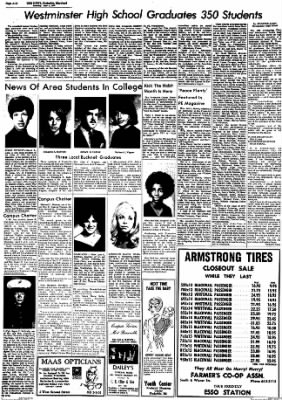 The News from Frederick, Maryland on June 6, 1970 · Page 12