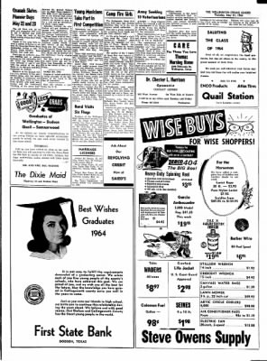 The Wellington Leader from Wellington, Texas on May 21, 1964 · Page 3