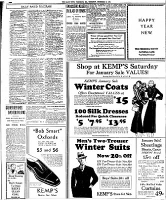 The News from Frederick, Maryland on December 31, 1931 · Page 2