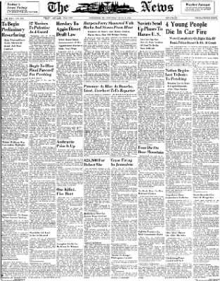 The News from Frederick, Maryland on July 17, 1948 · Page 1