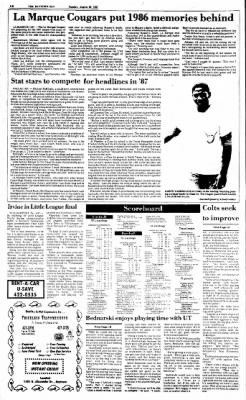 The Baytown Sun from Baytown, Texas on August 30, 1987 · Page 16
