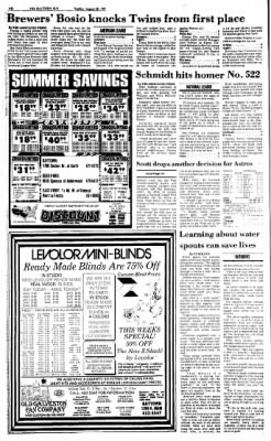 The Baytown Sun from Baytown, Texas on August 30, 1987 · Page 18
