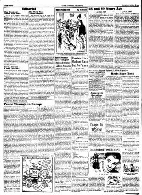 Alton Evening Telegraph from Alton, Illinois on April 23, 1953 · Page 8