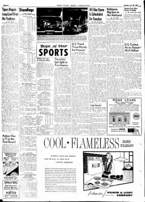 Hope Star from Hope, Arkansas on July 10, 1961 · Page 6