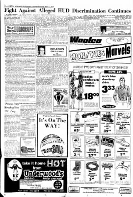 Lubbock Avalanche-Journal from Lubbock, Texas on April 7, 1975 · Page 2