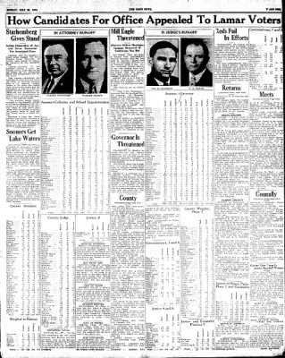 The Paris News from Paris, Texas on July 29, 1934 · Page 9