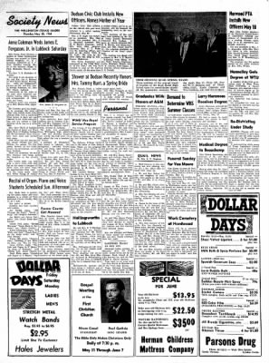 The Wellington Leader from Wellington, Texas on May 28, 1964 · Page 6
