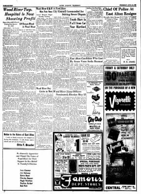 Alton Evening Telegraph from Alton, Illinois on April 23, 1953 · Page 15