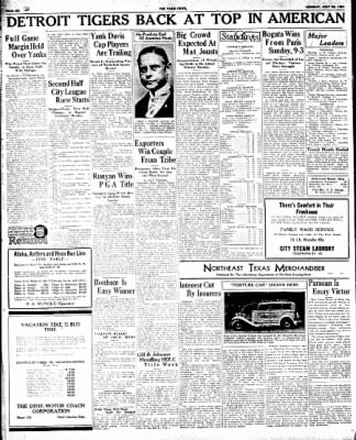The Paris News from Paris, Texas on July 30, 1934 · Page 6