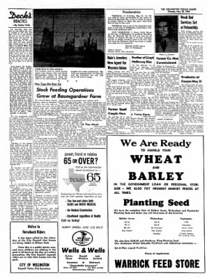 The Wellington Leader from Wellington, Texas on May 28, 1964 · Page 12