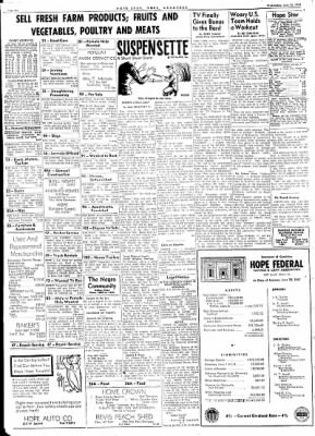 Hope Star from Hope, Arkansas on July 12, 1961 · Page 6