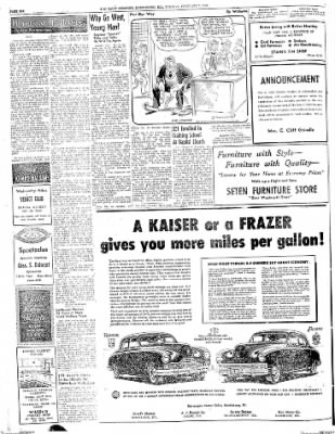 The Daily Register from Harrisburg, Illinois on February 3, 1948 · Page 6