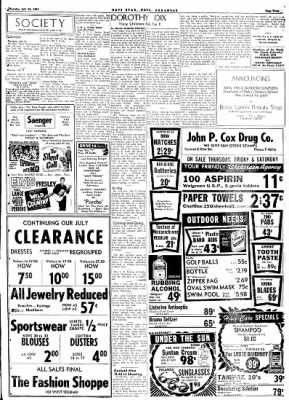 Hope Star from Hope, Arkansas on July 13, 1961 · Page 3