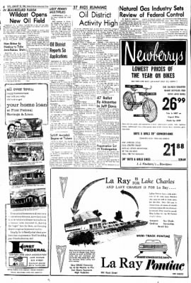 Lake Charles American-Press from Lake Charles, Louisiana on August 26, 1962 · Page 6