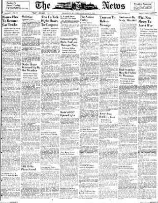 The News from Frederick, Maryland on July 21, 1948 · Page 1