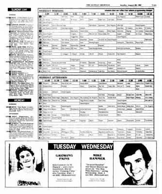 The Baytown Sun from Baytown, Texas on August 30, 1987 · Page 44
