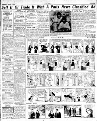 The Paris News from Paris, Texas on August 1, 1934 · Page 7
