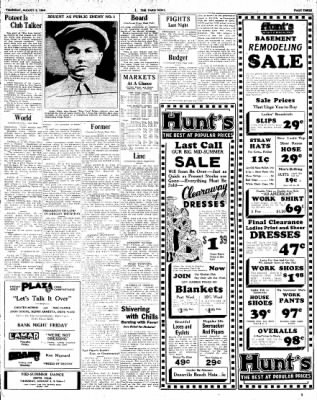 The Paris News from Paris, Texas on August 2, 1934 · Page 3