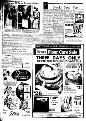 Clovis News-Journal from Clovis, New Mexico on May 11, 1966 · Page 4