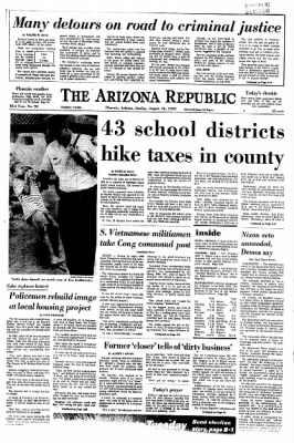 Arizona Republic from Phoenix, Arizona on August 16, 1970 · Page 4