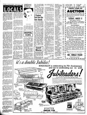 The Algona Upper Des Moines from Algona, Iowa on March 7, 1968 · Page 9