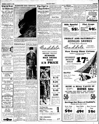 The Paris News from Paris, Texas on August 2, 1934 · Page 5