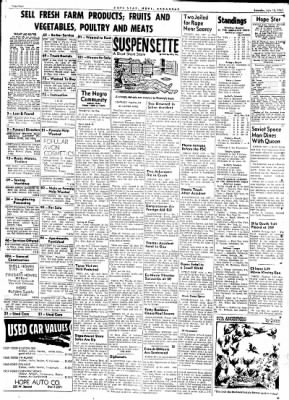 Hope Star from Hope, Arkansas on July 15, 1961 · Page 4