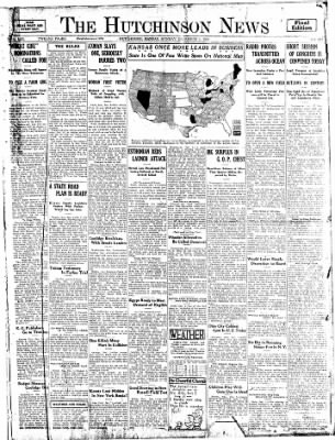 The Hutchinson News from Hutchinson, Kansas on December 1, 1924 · Page 1