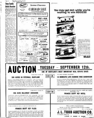 The News from Frederick, Maryland on September 8, 1967 · Page 14