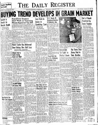 The Daily Register from Harrisburg, Illinois on February 7, 1948 · Page 1