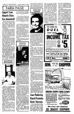 The Algona Upper Des Moines from Algona, Iowa on March 12, 1968 · Page 6