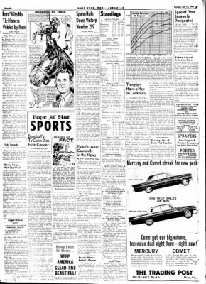 Hope Star from Hope, Arkansas on July 18, 1961 · Page 6