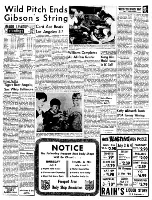 Freeport Journal-Standard from Freeport, Illinois on July 2, 1968 · Page 8