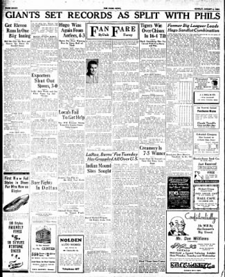 The Paris News from Paris, Texas on August 5, 1934 · Page 8