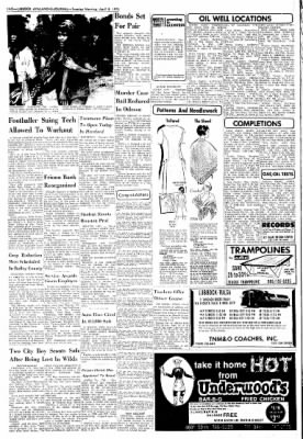 Lubbock Avalanche-Journal from Lubbock, Texas on April 8, 1975 · Page 18
