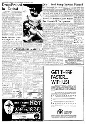 Lubbock Avalanche-Journal from Lubbock, Texas on April 8, 1975 · Page 19
