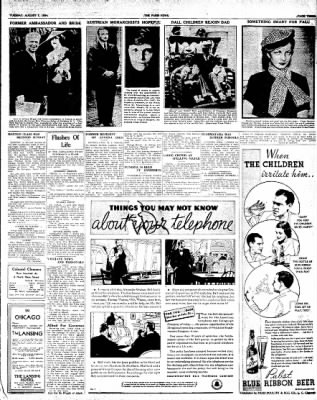 The Paris News from Paris, Texas on August 7, 1934 · Page 3
